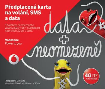 Vodafone Karta Pro Partu Datuj Od 109 Kc Zbozi Cz