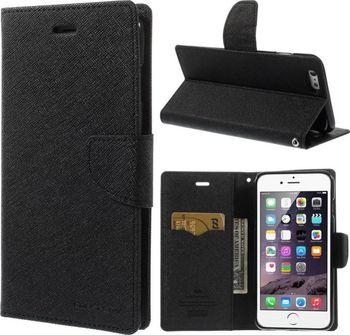 Goospery Mercury Bravo Diary pro iPhone 6 6S Plus černé. Flipové pouzdro na  mobilní ... 02e8607b254
