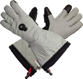 Glovii GS8 šedé. Vyhřívané lyžařské a moto rukavice ... 4e4f56e0bc