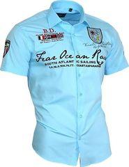 pánská košile Binder De Luxe 80603 světle modrá ade5331a60