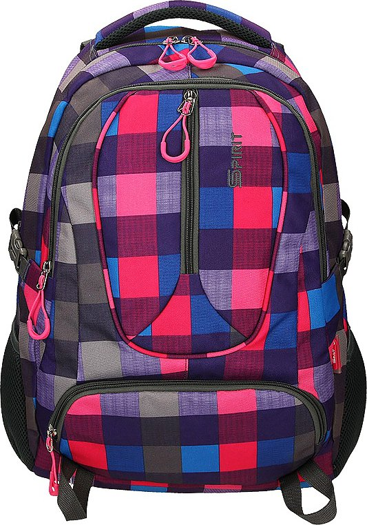 a799869c06 Spirit Wizzard Bond Pink studentský batoh
