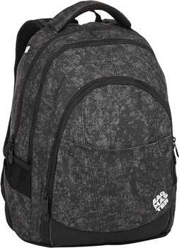 f3c00fc6ee Tříkomorový studentský batoh s polstrovanou kapsou na notebook 15