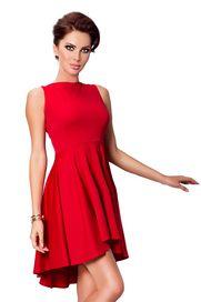 6d7d7d83da77 Červené dámské šaty bez rukávů s velikostí velikostí L