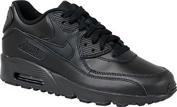 Nike Air Max 90 Leather GS Black od 1 838 Kč • Zboží.cz 9f4977172be