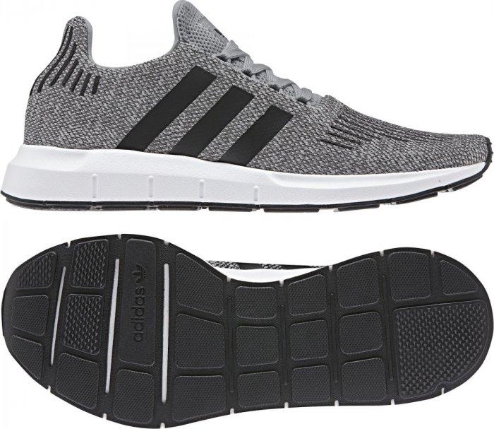 0d3d7cece Adidas Swift Run Grey Three/Core Black/Medium Grey Heather od 1 591 Kč    Zboží.cz