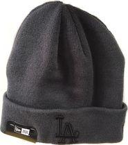 čepice New Era MLB League Essential Cuff LA tmavě šedá 72205ddda7