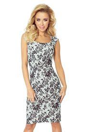 8e9ec3eac787 Dámské pouzdrové šaty a dámské květinové šaty s velikostí velikostí ...