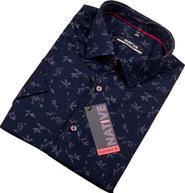 Tmavě modré pánské košile • Zboží.cz 1216395a1f