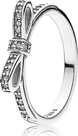 Šedé stříbrné prsteny s kamenem ze zirkonu a PANDORA • Zboží.cz 39dd71c2561