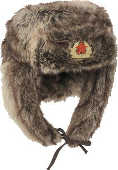 Teplá zimní beranice s umělým kožíškem. Provedení v ruském stylu. 9ae5dfb9d6