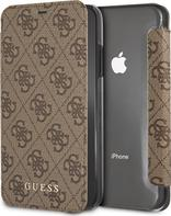 Guess Charms Book Case 4G pro Apple iPhone XR hnědé 8666c8c914f