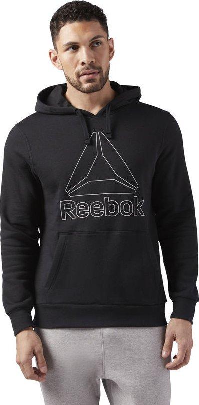 Reebok Big Logo Hoodie Black od 950 Kč • Zboží.cz 8c2e9294df