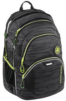 Coocazoo JobJobber2 Black Knit. Praktický školní batoh ... 27aeddd36e