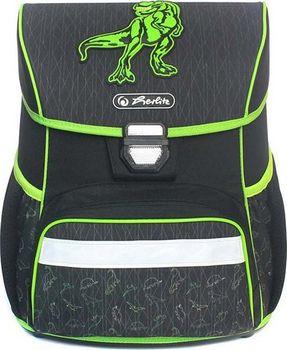 Herlitz Loop Dino zelený. Nepromokavý školní batoh ... d3bd83529d