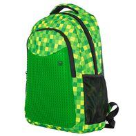97a0bfd64af Pixie Crew studentský Minecraft batoh zelená kostka
