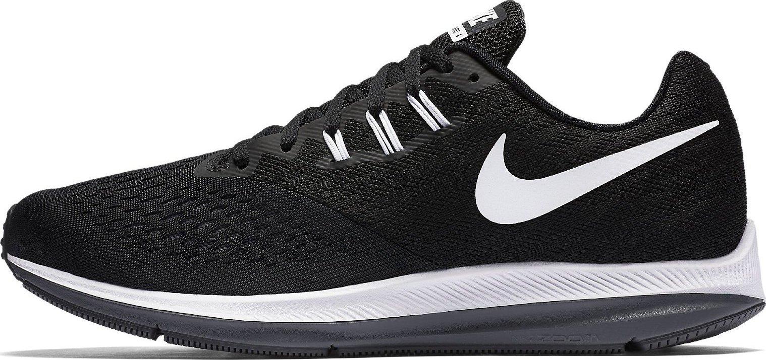 99e19762d8542 Nike Zoom Winflo 4 Black Dark Grey White od 1 690 Kč • Zboží.cz