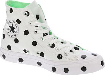Converse Chuck Taylor All Star Hi White Black Illusion Green od 1 ... 4504fec24b