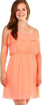 Oranžové dámské šaty z polyesteru • Zboží.cz 392f2547b5