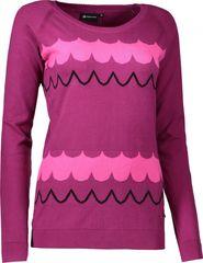 dámský svetr Alpine Pro Carlyle 2 fialový 5b833e0628