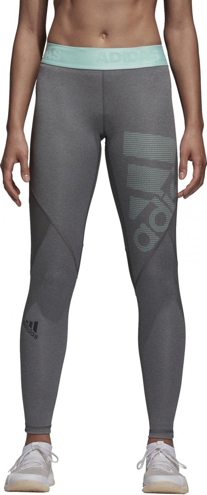 9f921a28bcf Adidas Alphaskin Sport Long Tights Dark Grey Heather Grey Four Clear Mint  od 690 Kč • Zboží.cz