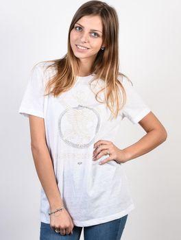 9b379a16c95 Fox No Dice White. Dámské bílé triko ...