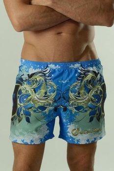 Geronimo 1621P1 modré. Pánské šortkové plavky ... 4706417f90