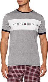 f511c99a9d pánské tričko Tommy Hilfiger RN Tee SS Logo šedé