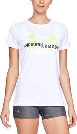 5fa872b53270 dámské tričko Under Armour Tech Graphic bílé