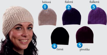 e104243b3 Pletex 409 dámská pletená zimní čepice…