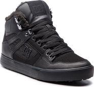 pánská zimní obuv DC Shoes Pure WC High Top Winter Black Black Black 8ba9eda576