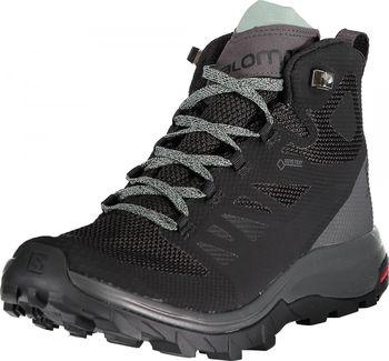 8cc3afb2a94 Salomon Outline MID GTX W Black. Dámské turistické boty ...