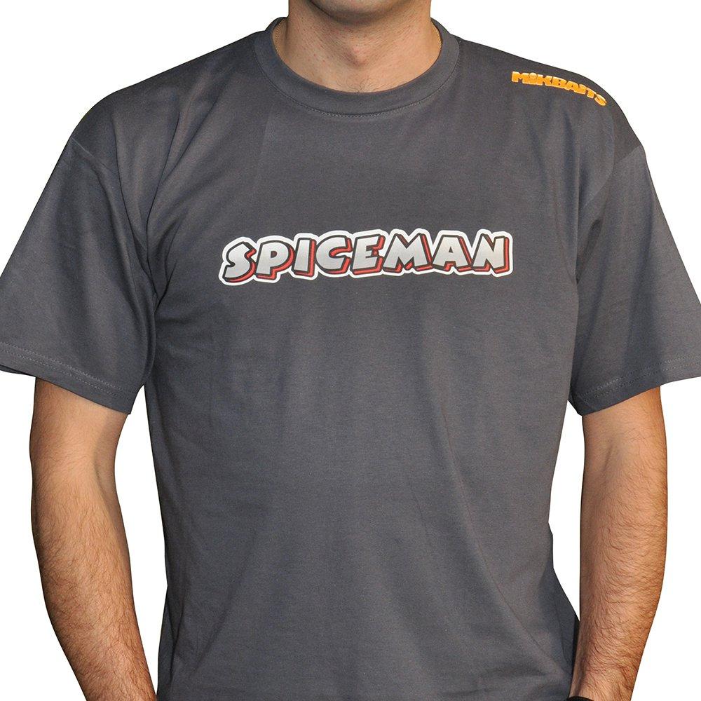 Mikbaits Pánské tričko Spiceman šedé od 150 Kč • Zboží.cz 58ce170602