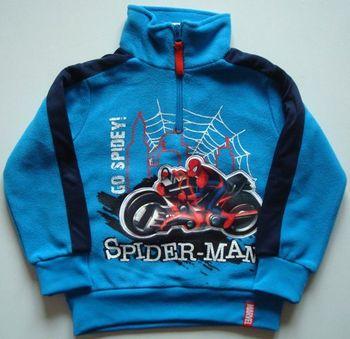 Dětská originální fliesová mikina Spiderman… 340 Kč 07066e2d82d
