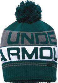 čepice Under Armour Retro Pom 2.0 Beanie zelená uni 3eef020220