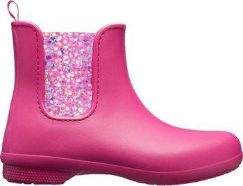 Crocs Freesail Chelsea Boot Berry Dots. Dámské nízké holínky ... 581c0ed1f8