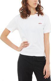 3a5def38302 dámské tričko VANS Lorraine Boxy bílé