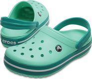 4f2239b81cf dámské sandále Crocs Crocband Mint Tropical Teal