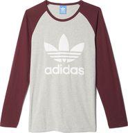 pánské tričko adidas ES LS Tee šedá L d15d8ec882