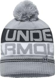 d55e5978e7e čepice Under Armour Men´s Retro Pom Beanie 2.0 šedá uni