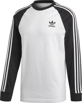 Adidas 3-Stripes Ls T bílé černé. S tímto pánským tričkem ... 3eb61bbf40a