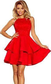 Červené dámské šaty ramínka • Zboží.cz e0bea14951