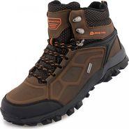8156e3c1c365 pánská treková obuv Alpine Pro Babbl hnědá
