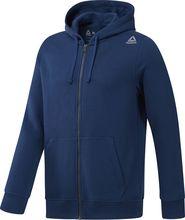 pánská mikina Reebok Te Fleece Fz modrá cc9652451e9