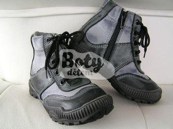 Celoroční kožená obuv SANTÉ N TOP 102 Šedá 34 920e22c1804