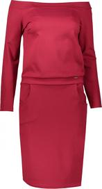 3fc8f5a9c25 Červené dámské šaty s dlouhým rukávem • Zboží.cz