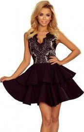 38bd9fc5854c dámské šaty Numoco 200-3 Charlotte černé