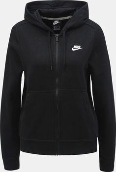 Nike W Nsw Fz Flc 853930-010 černá od 890 Kč • Zboží.cz f54ad62e52