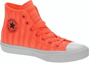 Converse Chuck Taylor All Star II Hi 155492 Hyper Orange White Gum ... 96feedbd0b