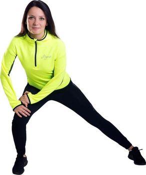 Progress Victoria Hi-Viz iluminační žlutá černá. Progress Victoria Hi-Viz  je dámská běžecká mikina s kapucí ... 438da878d9