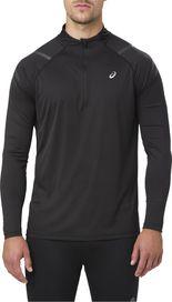 pánské tričko Asics Icon LS 1 2 Zip černé c440533f55